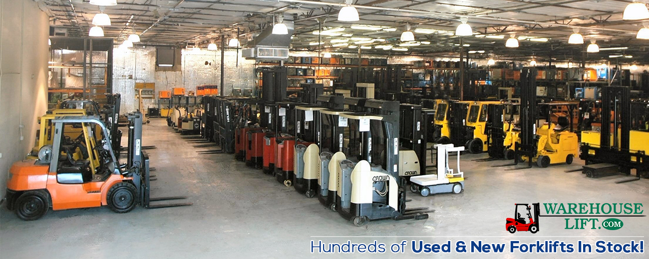 Shop View - Hundreds of Used & New Forklifts in stock