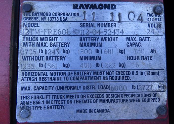 raymond pallet jack service manual